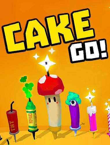 Cake go: Party with candle