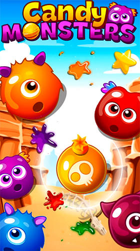 Baixar Candy monsters match 3 para Android grátis.