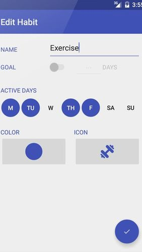 Day by Day: Habit tracker