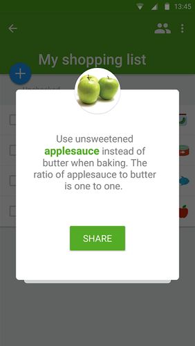 Listonic: Grocery shopping list