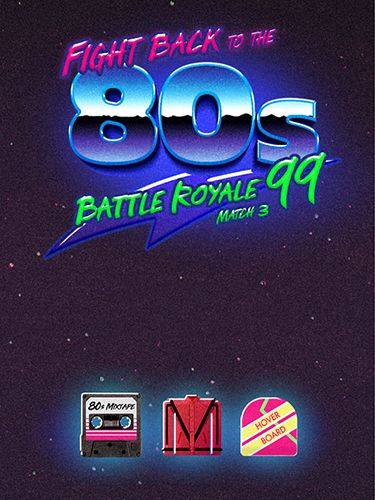 Baixar Fight back to the 80's: Match 3 battle royale para iPhone grátis.