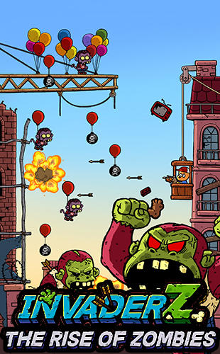 Baixar Invader Z: The rise of zombies para iPhone grátis.