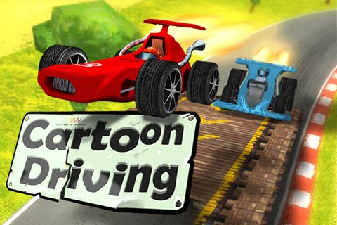 Cartoon driving