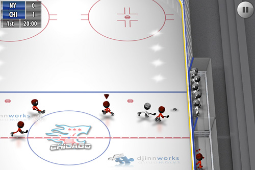 Stickman: Ice hockey