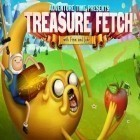 Juntamente com o jogo Farm on! para iPhone, baixar grátis do Treasure fetch: Adventure time.