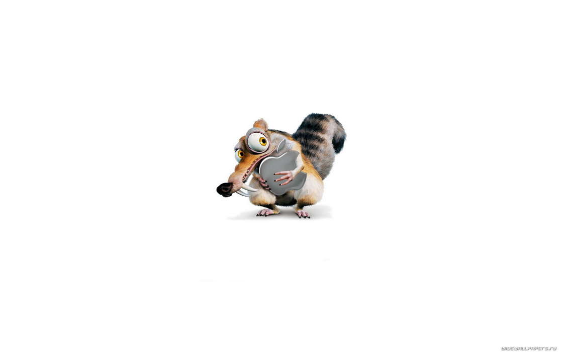 Brands, Logos, Apple, Scrat, Ice Age