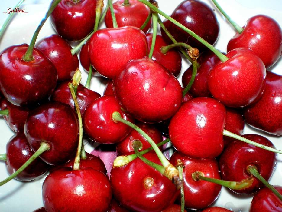 Fruits, Sweet cherry, Food, Berries