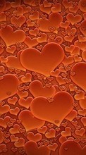 Background,Hearts