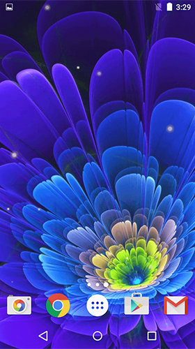 Glowing flowers by Free Wallpapers and Backgrounds - baixar grátis papel de parede animado Flores para Android.