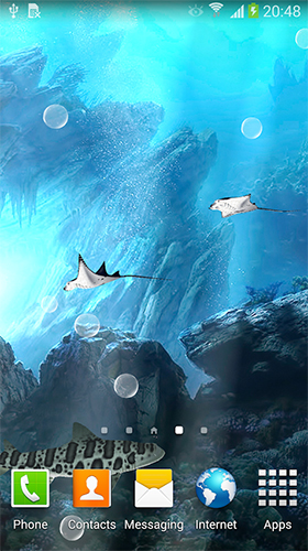 Baixar Sharks 3D by BlackBird Wallpapers - papel de parede animado gratuito para Android para desktop.