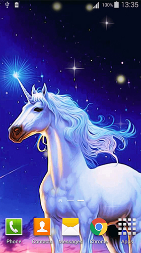Baixar Unicorn by Cute Live Wallpapers And Backgrounds - papel de parede animado gratuito para Android para desktop.