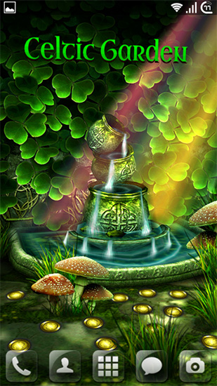 Captura de tela do Celtic garden HD em telefone celular ou tablet.