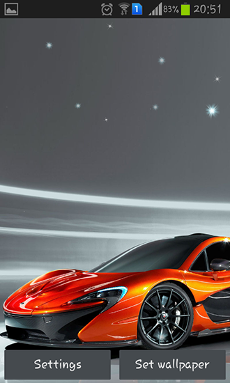 Captura de tela do Cool cars em telefone celular ou tablet.