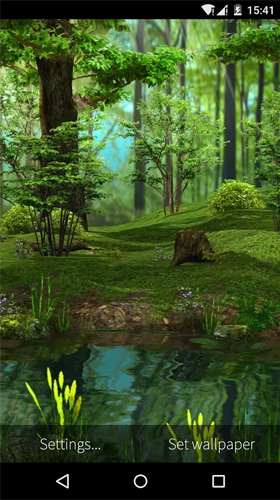 Deer and nature 3D