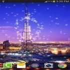 Baixar papel de parede animado Dubai night by live wallpaper HongKong para desktop de celular ou tablet.