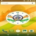 Baixar papel de parede animado India clock by iPlay Store para desktop de celular ou tablet.